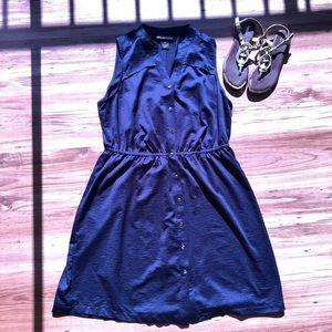 Lane Bryant Sleeveless Shirt Dress
